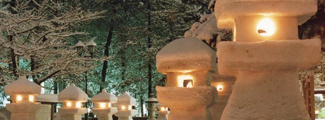 5雪灯篭2